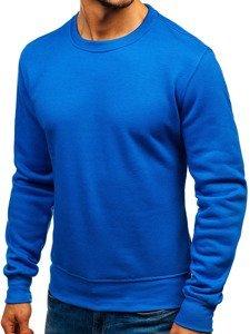 Bluza męska bez kaptura niebieska Bolf BO-01