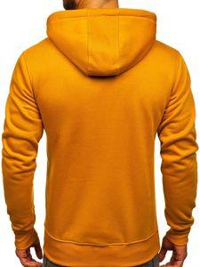 Bluza męska z kapturem camelowa Denley 2009
