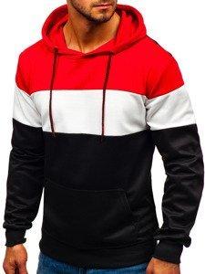 Bluza męska z kapturem czarna Denley 35010