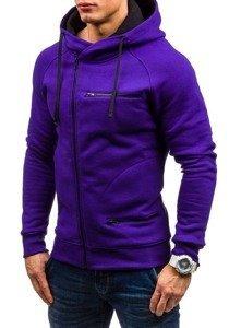 Bluza męska z kapturem fioletowa Bolf 31S
