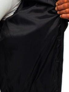Khaki przejściowa kurtka męska pikowana bomberka Denley MY-02