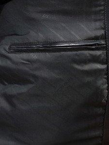 Kurtka męska skórzana czarna Denley 3051