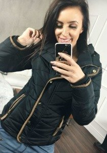 Kurtka zimowa damska czarna Denley 22
