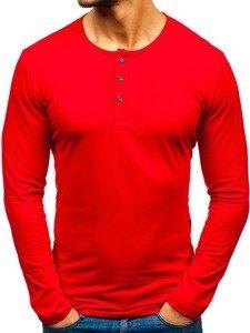 Longsleeve męski czerwony Bolf 1114