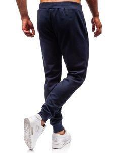Spodnie dresowe męskie granatowe Denley 1884