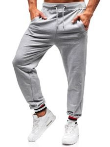 Spodnie dresowe męskie szare Bolf 145368