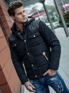Stylizacja nr 100 - kurtka zimowa, spodnie jeansowe