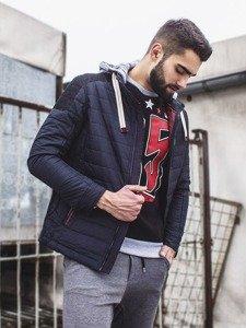 Stylizacja nr 114 - kurtka przejściowa, bluza z nadrukiem, spodnie joggery