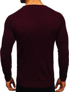 Sweter męski bordowy Denley 285