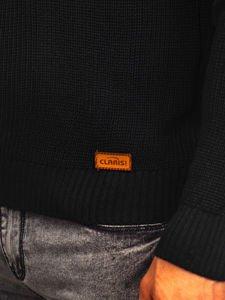 Sweter męski czarny Denley 3017