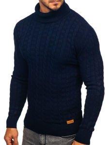 Sweter męski golf granatowy Denley 16