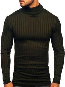 Sweter męski golf khaki Denley 2002
