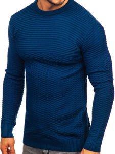 Sweter męski niebieski Denley 319