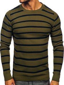 Sweter męski zielony Denley 4356