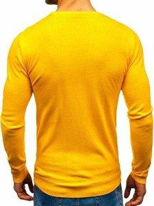 Sweter męski żółty Denley 2300