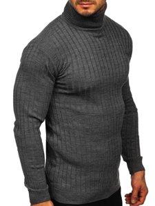 Szary sweter męski golf Denley 520